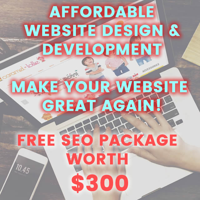 Free SEO startup package
