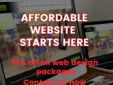 10% off Website Design Promotion