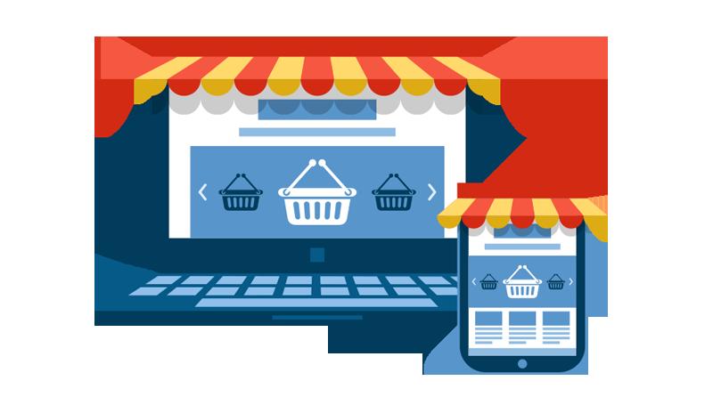 Website design ecommerce banner